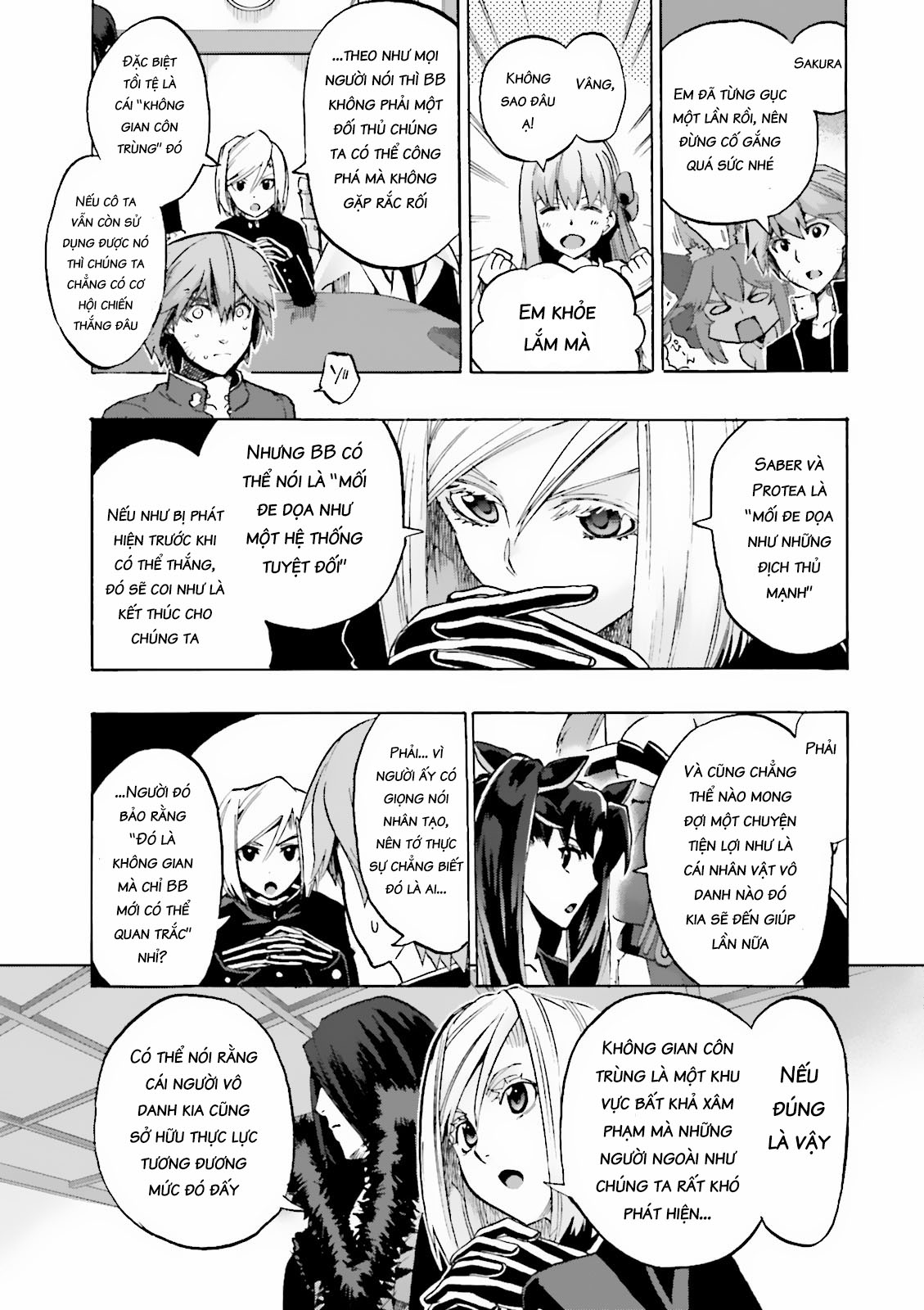 Fate/extra Ccc - Foxtail (Wicked House) Chap 23 Trang 16