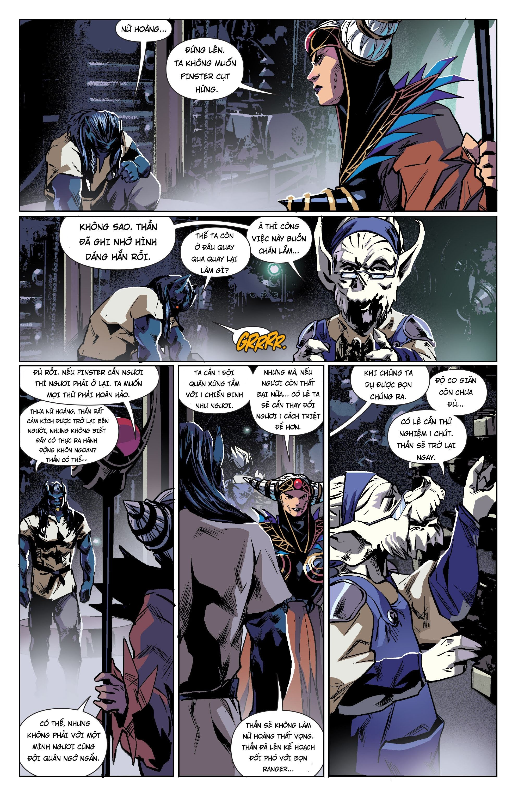 Mighty Morphin Power Rangers Chap 13 Trang 4