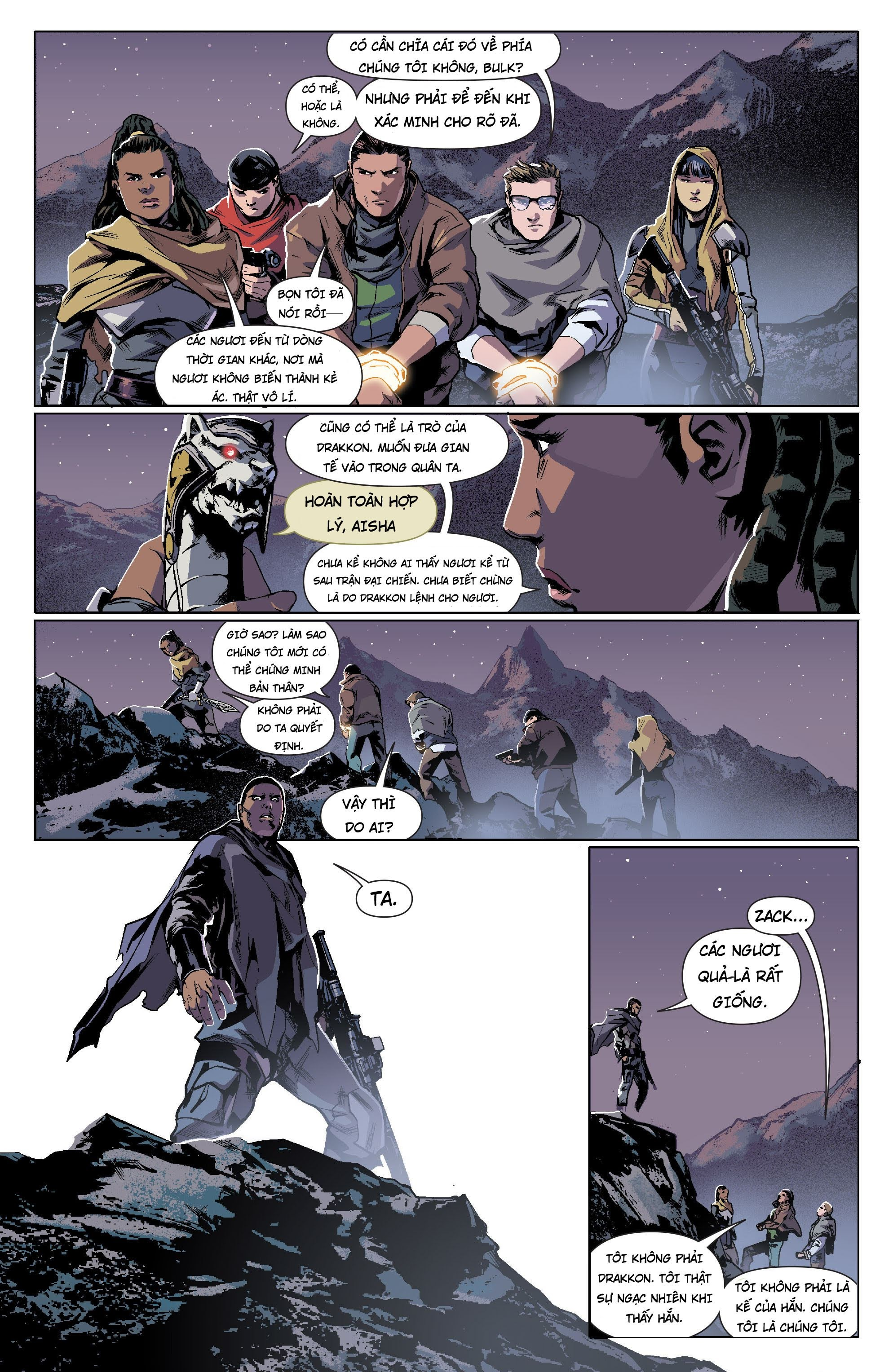 Mighty Morphin Power Rangers Chap 13 Trang 6