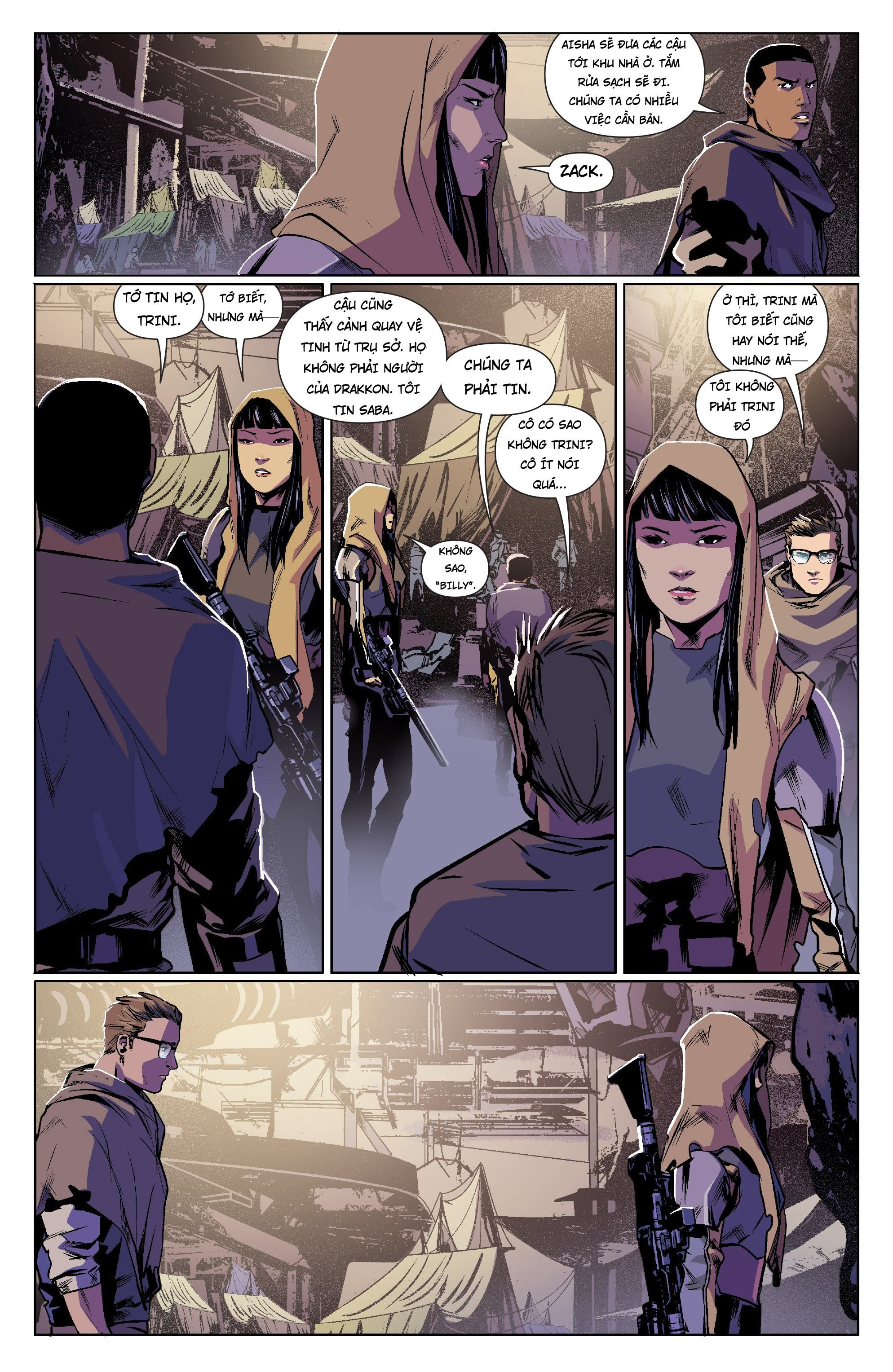 Mighty Morphin Power Rangers Chap 13 Trang 9
