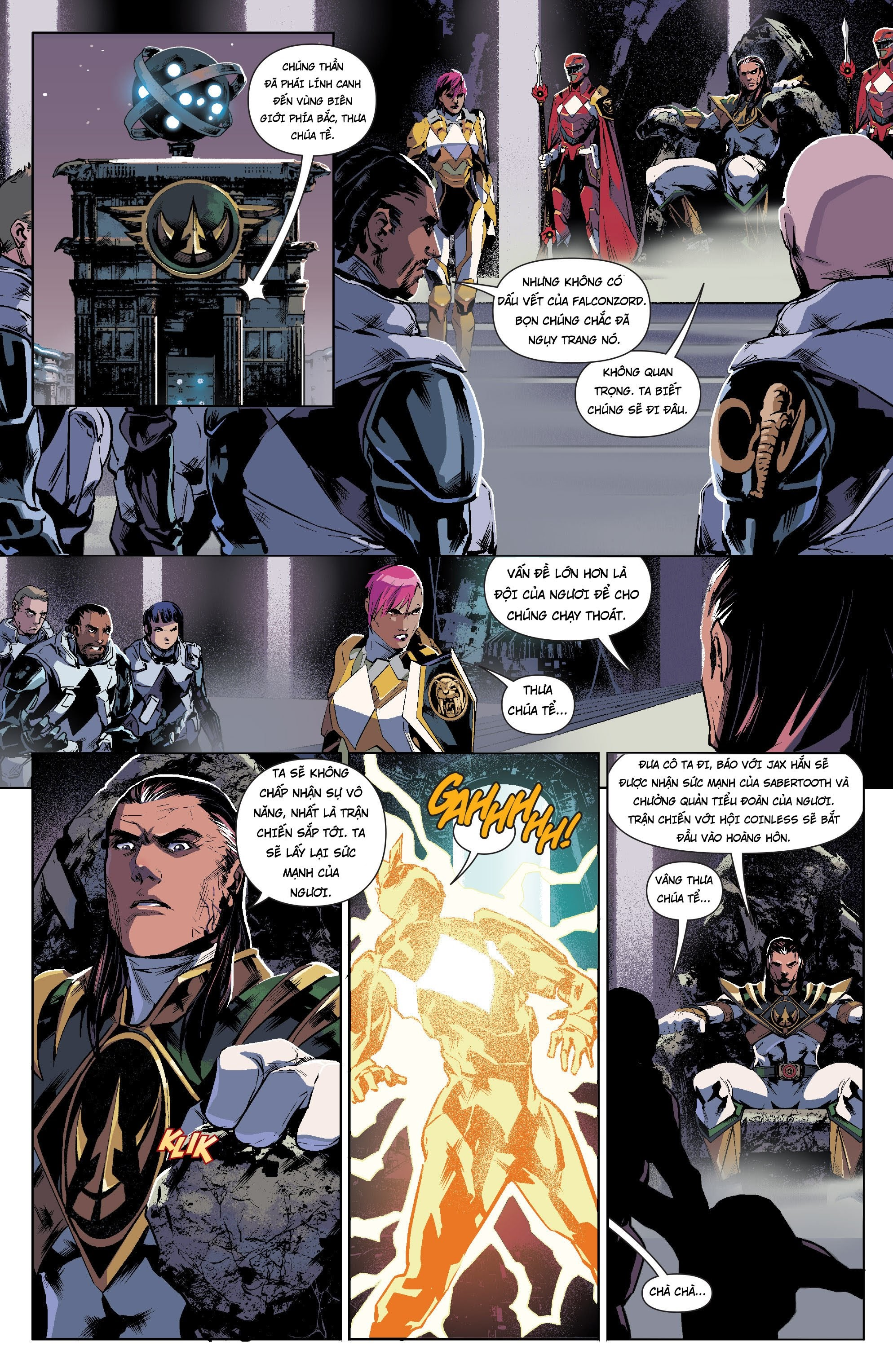 Mighty Morphin Power Rangers Chap 13 Trang 10