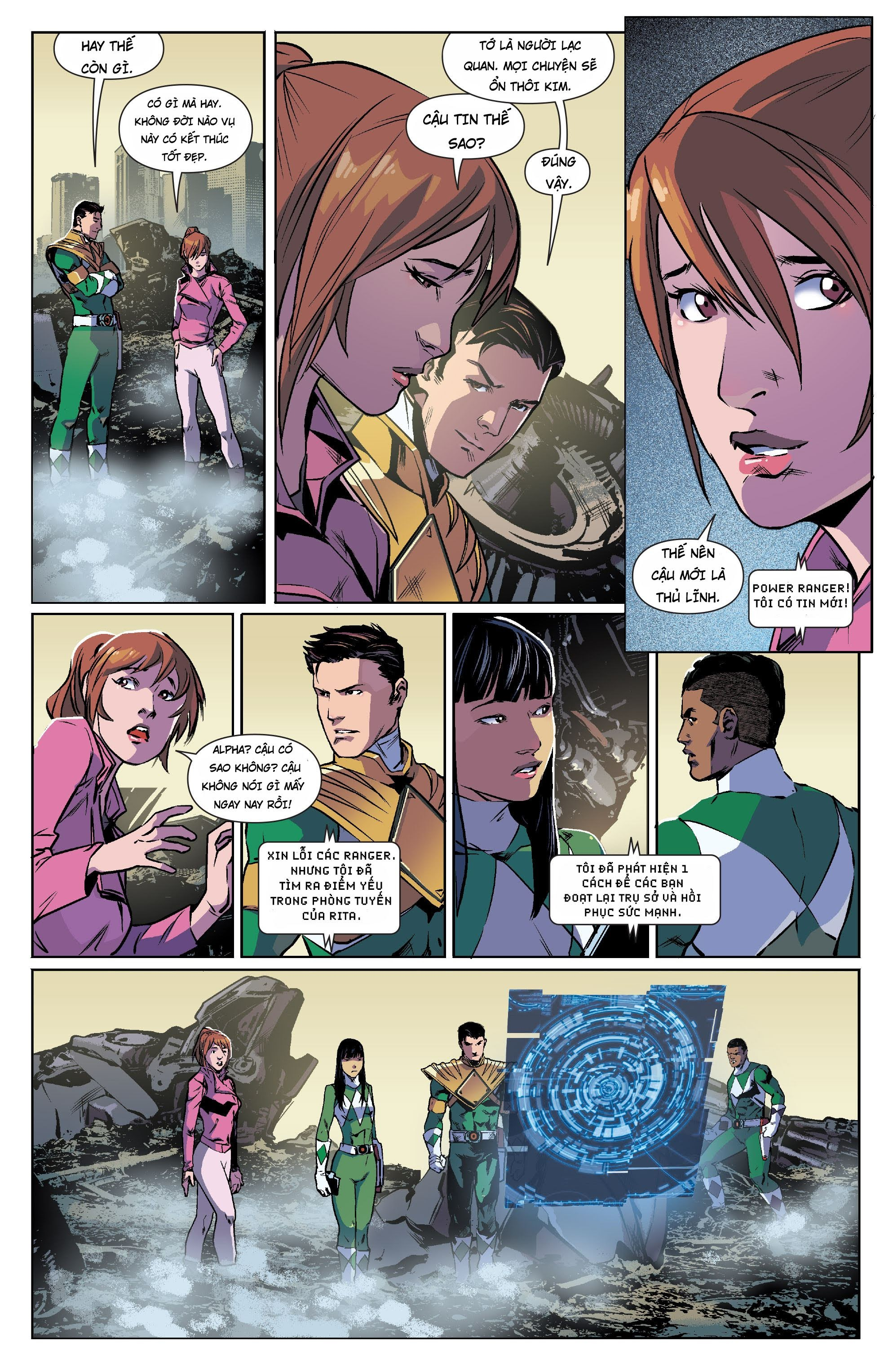 Mighty Morphin Power Rangers Chap 13 Trang 16