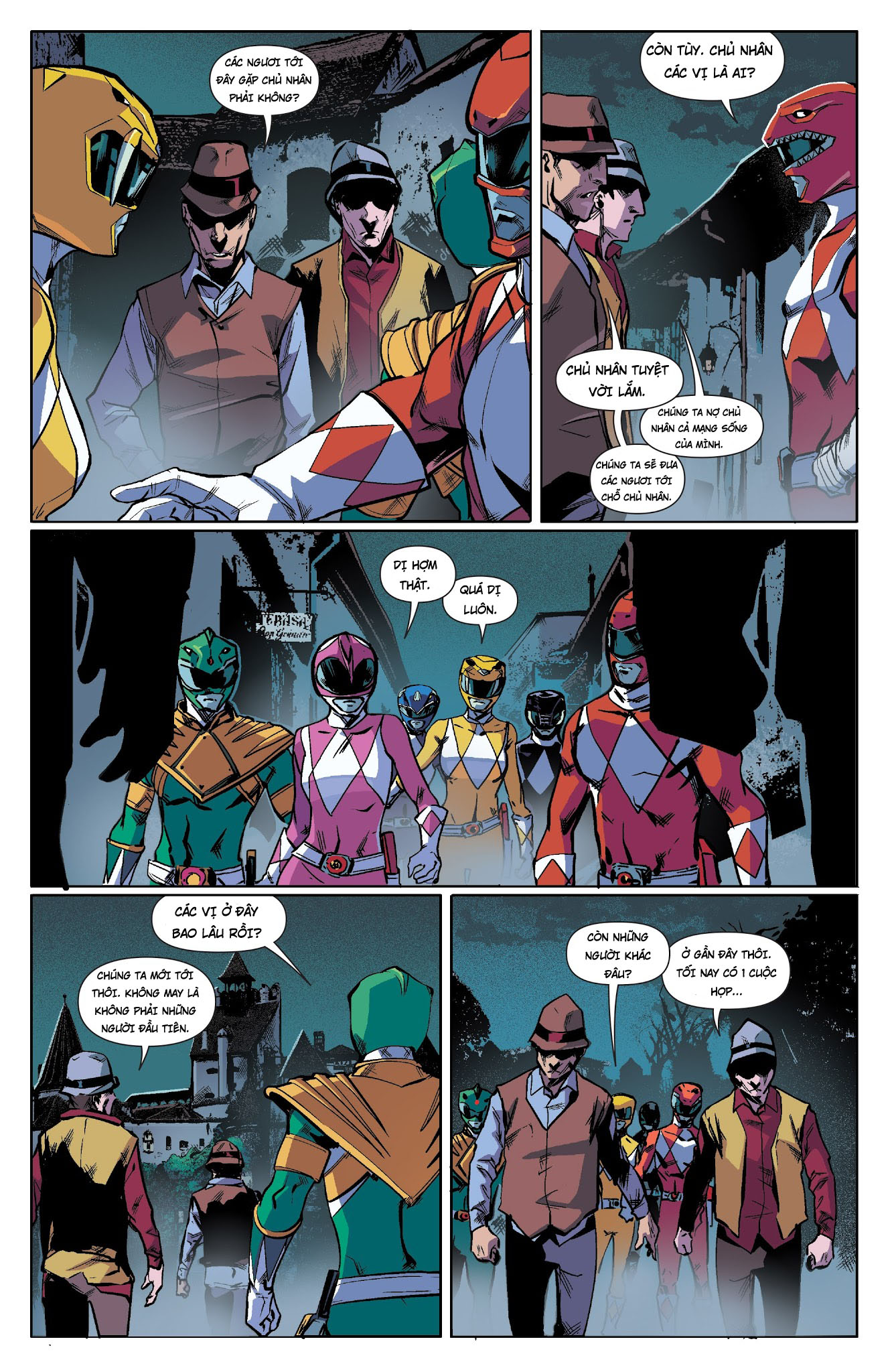 Mighty Morphin Power Rangers Chap 18 Trang 6