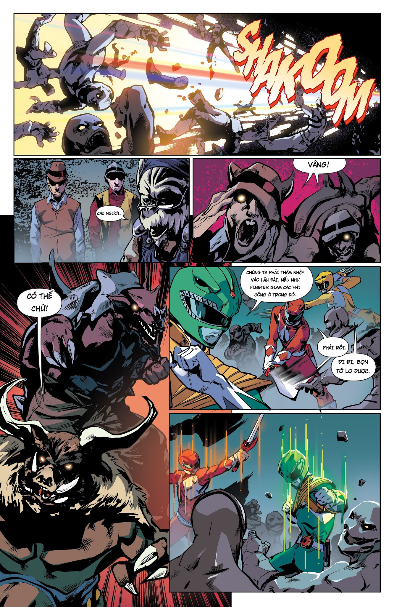 Mighty Morphin Power Rangers Chap 18 Trang 10