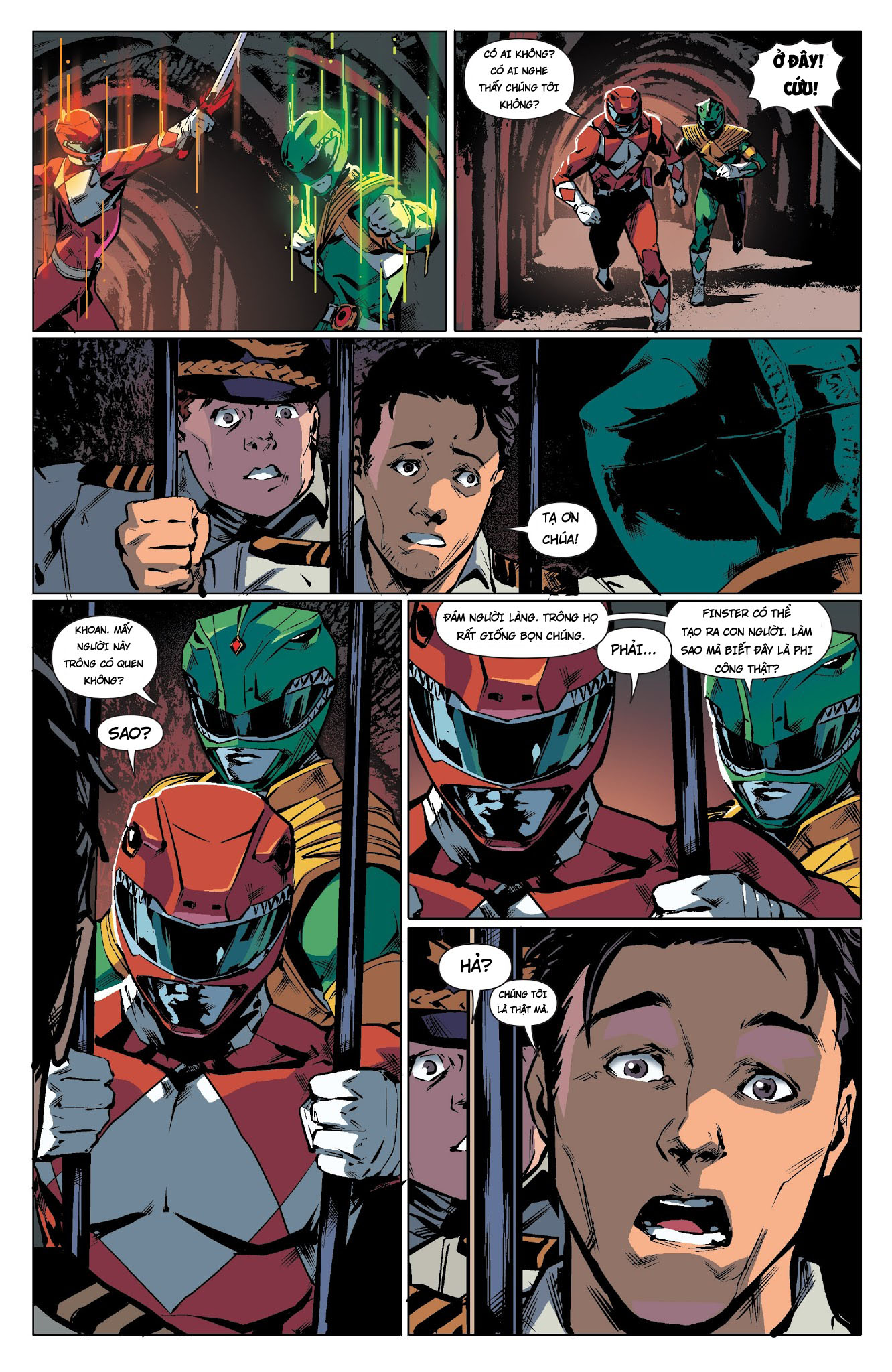 Mighty Morphin Power Rangers Chap 18 Trang 11