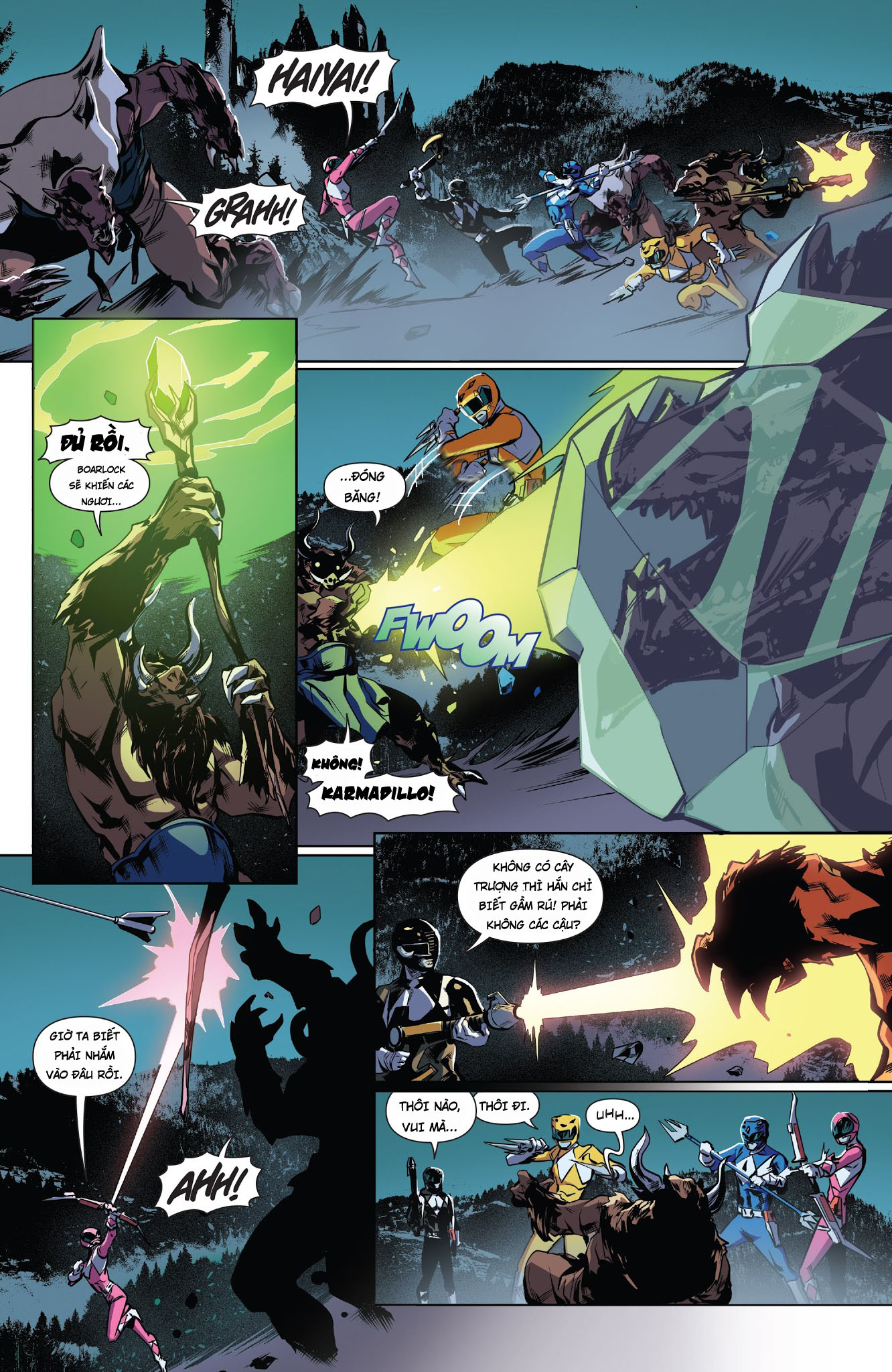 Mighty Morphin Power Rangers Chap 18 Trang 14